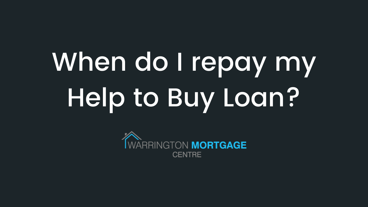 When is the best time to look at repaying your Help to Buy Loan?