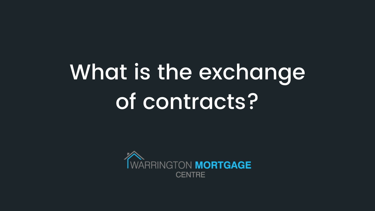 What is the exchange of contracts?