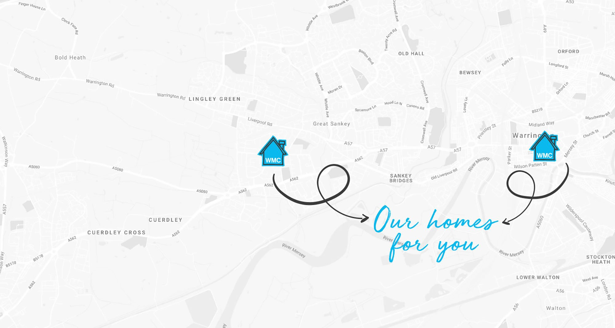our homes in warrington